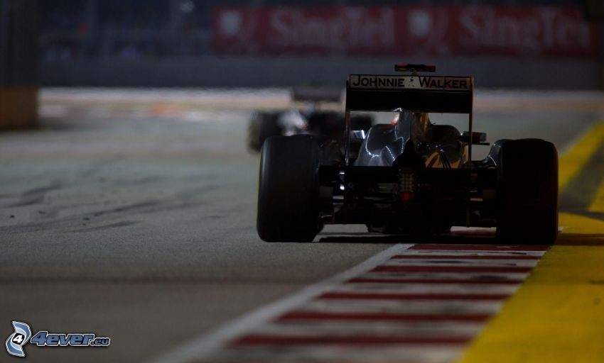 Formula 1, circuito da corsa
