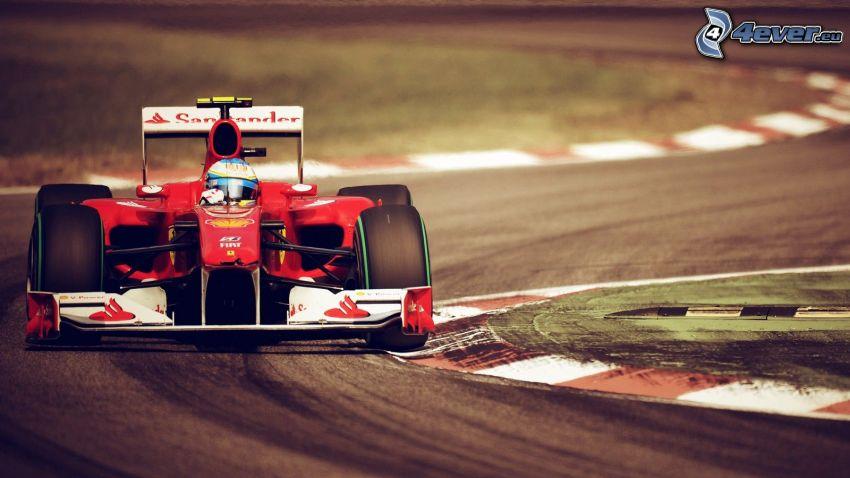 Formula 1, curva, circuito da corsa