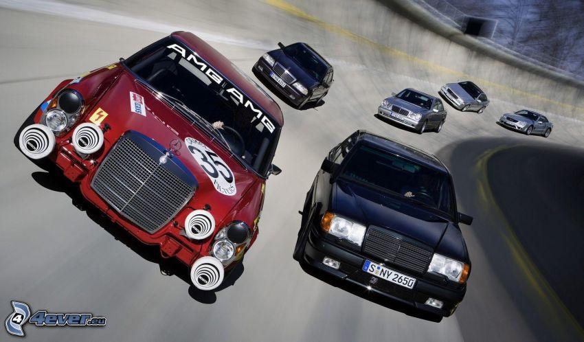 gara, Mercedes-Benz