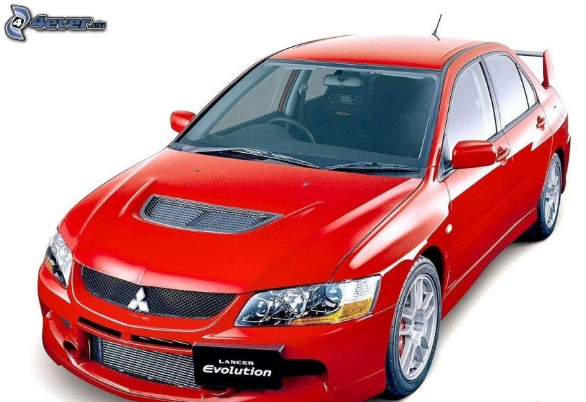 Mitsubishi Lancer Evolution, auto da corsa