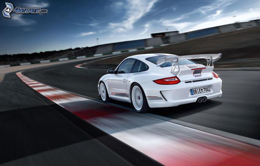 Porsche 911, velocità, circuito da corsa