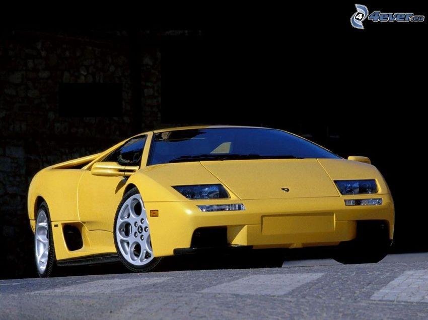 Lamborghini Diablo, auto sportive