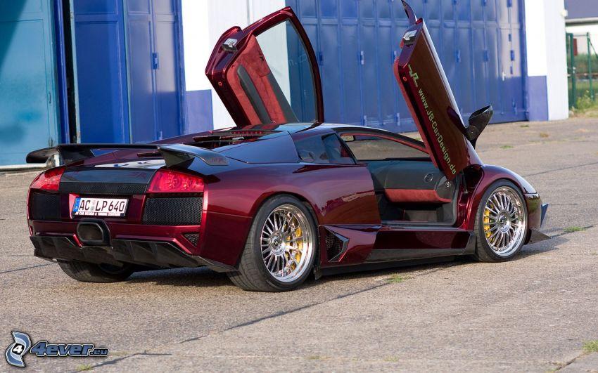 Lamborghini Murciélago, porta
