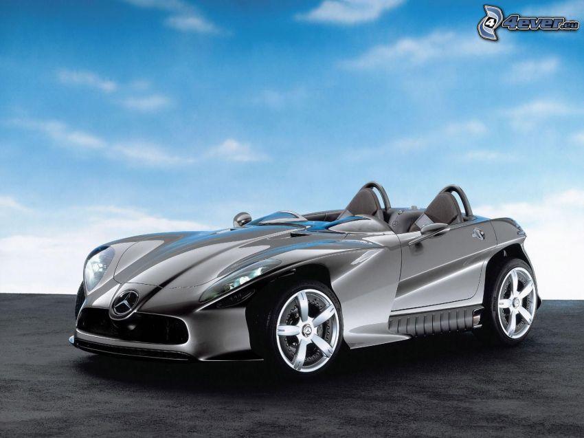 Mercedes, concetto, auto sportive