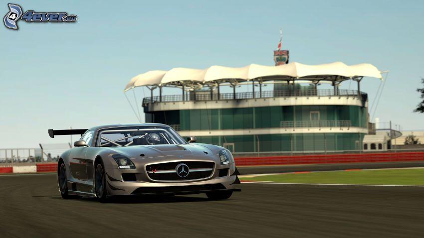 Mercedes-Benz SLS AMG, circuito da corsa