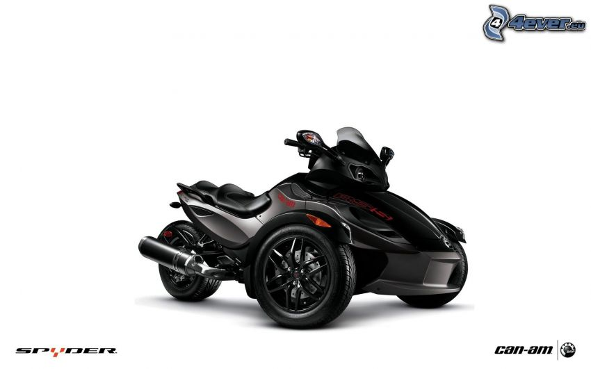 Can-Am Spyder RT, triciclo
