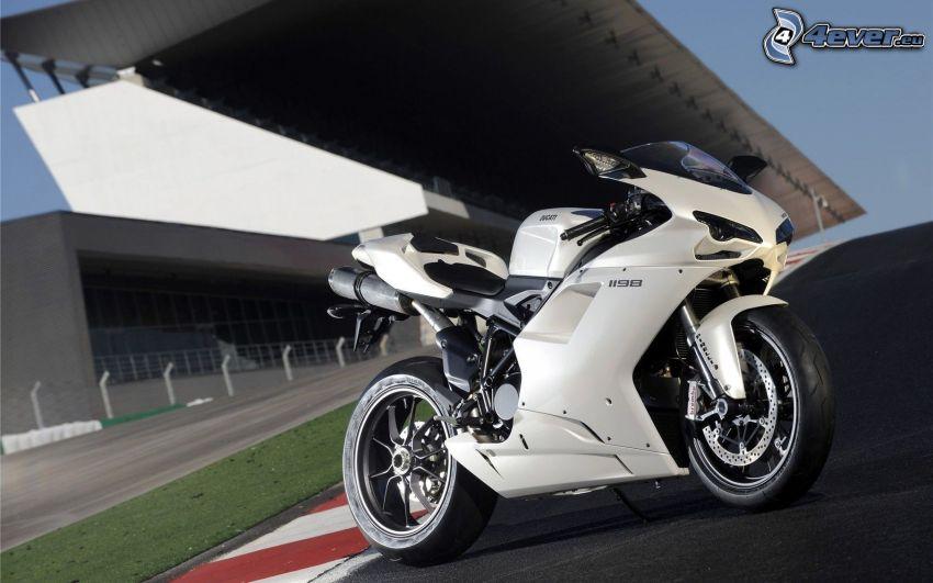 Ducati 1198S Corse, circuito da corsa
