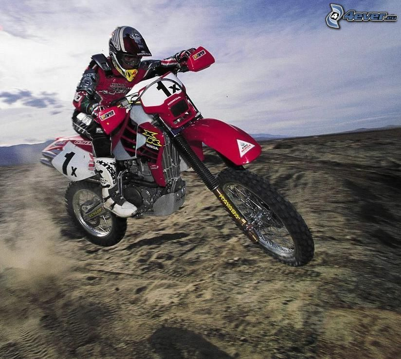 motocicletta, gara