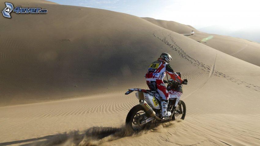 motocross, deserto