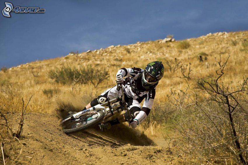 motocross, motociclista