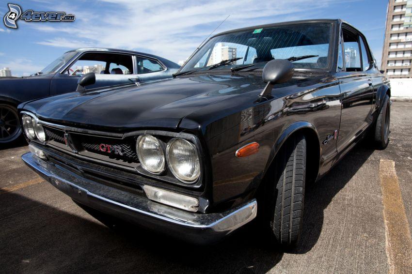 Nissan Skyline GT-R, veicolo d'epoca, riflettore
