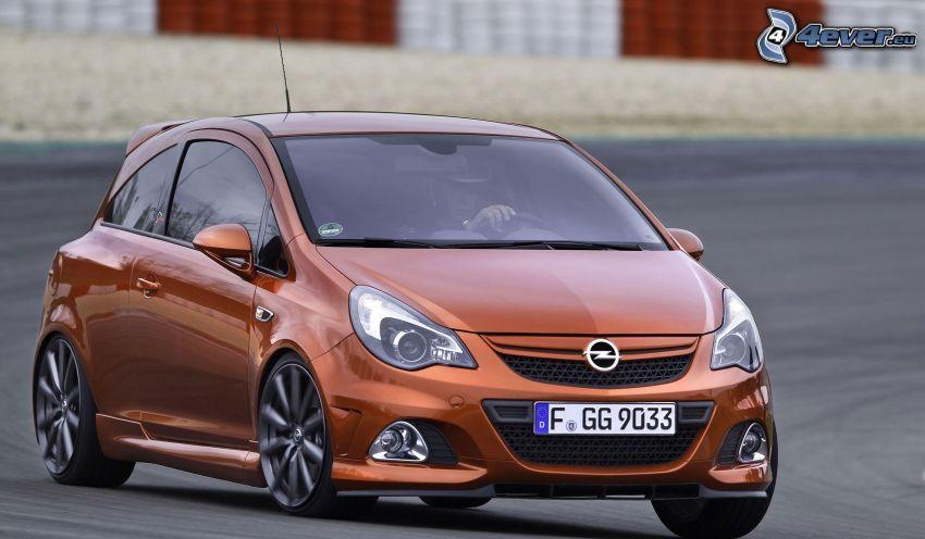 Opel Corsa, circuito da corsa