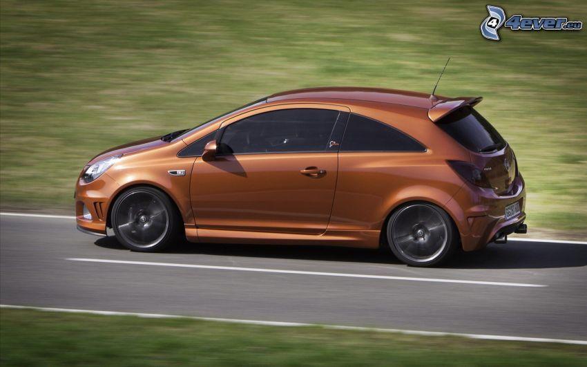 Opel Corsa, strada, velocità