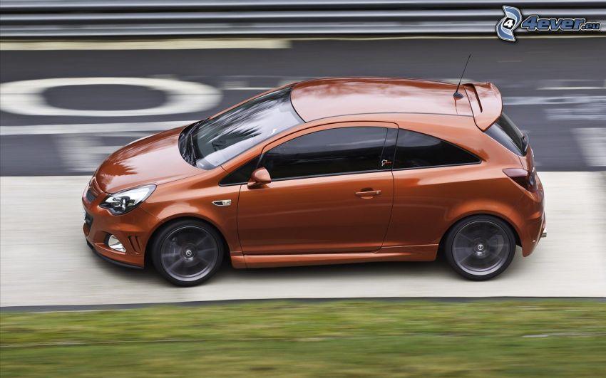 Opel Corsa, velocità