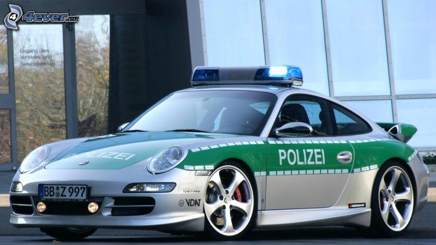 Porsche 911, auto della polizia