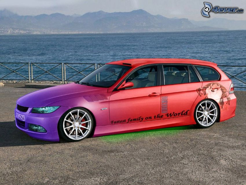 BMW 330d touring, virtual tuning