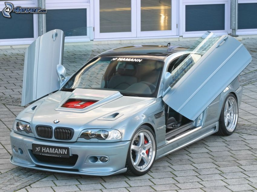 BMW M3, Hamann, porta, piastrelle, tuning