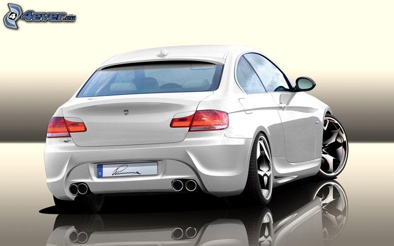 BMW M3 E92 Lumma, virtual tuning