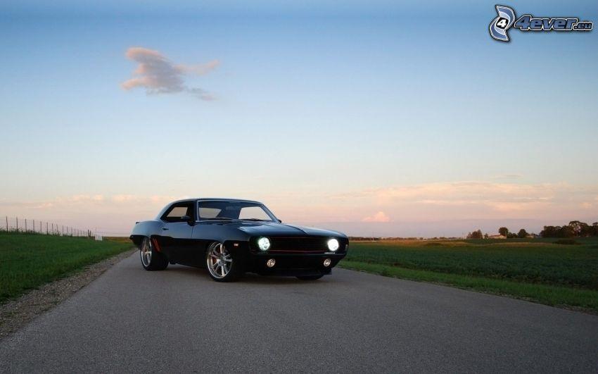 Chevrolet Camaro, tuning, veicolo d'epoca, strada