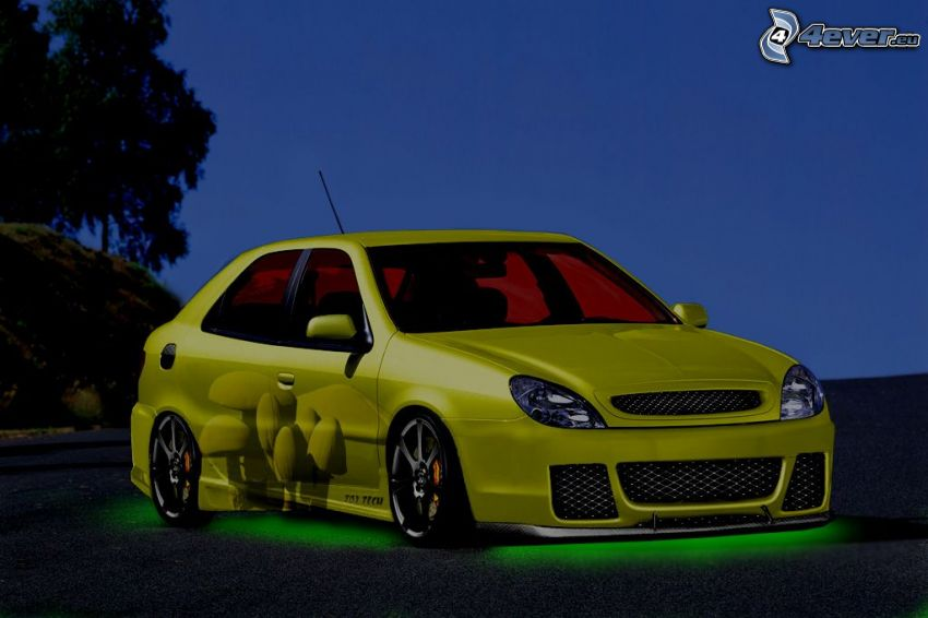 Citroën Xsara, virtual tuning