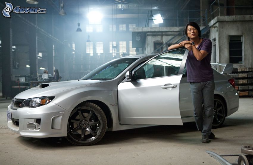 Fast and Furious 5, The Fast and the Furious, Sung Kang, Subaru Impreza