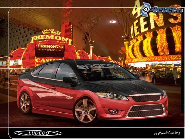 Ford Mondeo, virtual tuning