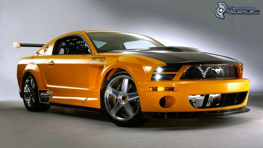 Ford Mustang, auto sportive
