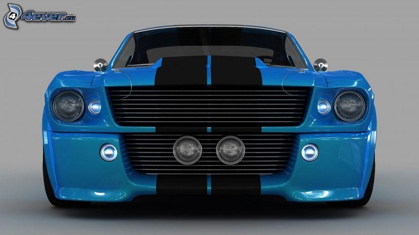 Ford Mustang, griglia anteriore