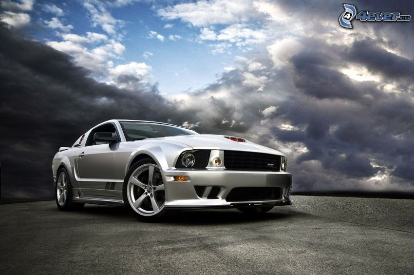 Ford Mustang, tuning, nuvole