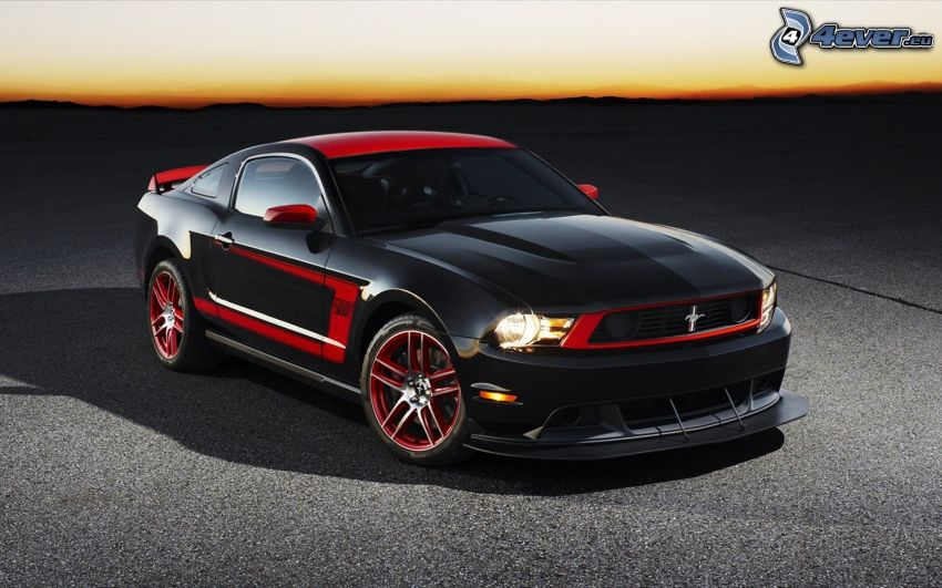 Ford Mustang Boss 302, dopo il tramonto