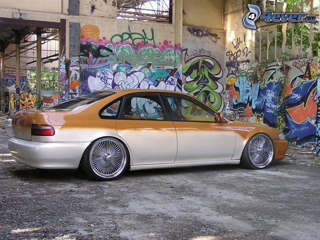 Honda Accord, graffitismo