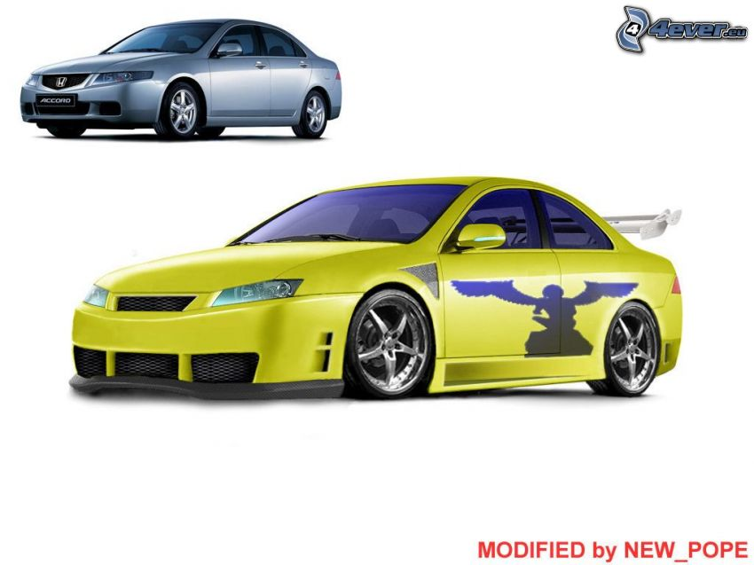 Honda Accord, virtual tuning