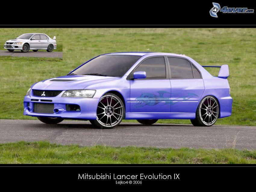 Mitsubishi Lancer Evolution IX, virtual tuning