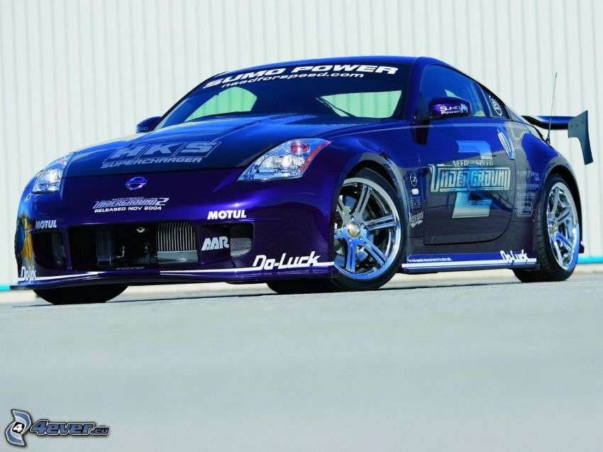 Nissan 350Z, Sumo Power, Need For Speed