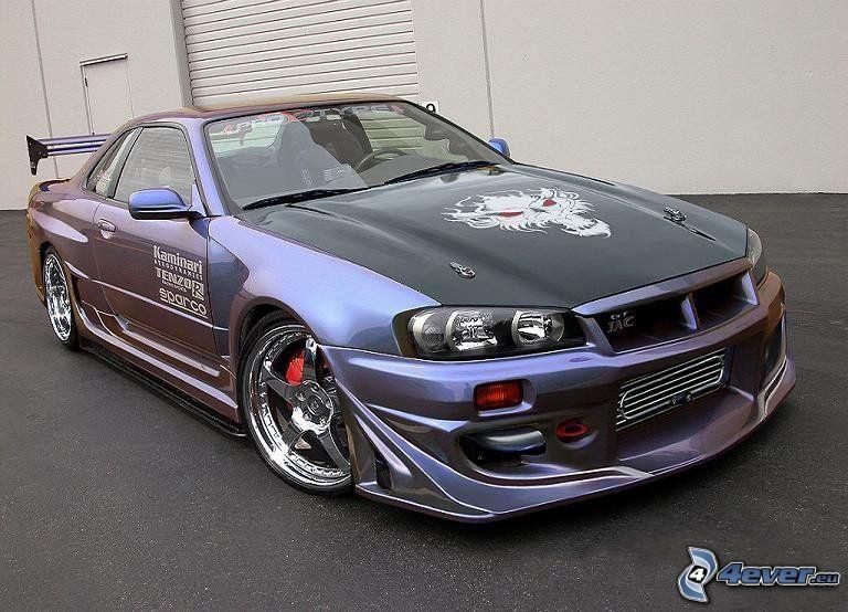 Nissan Skyline GT-R R34, tuning
