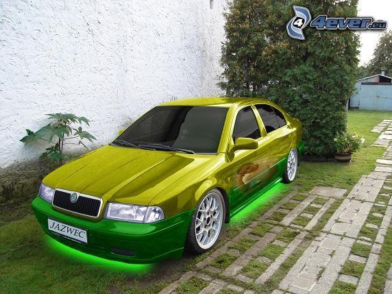 Škoda Octavia, virtual tuning