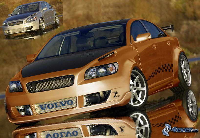 Volvo S40, virtual tuning