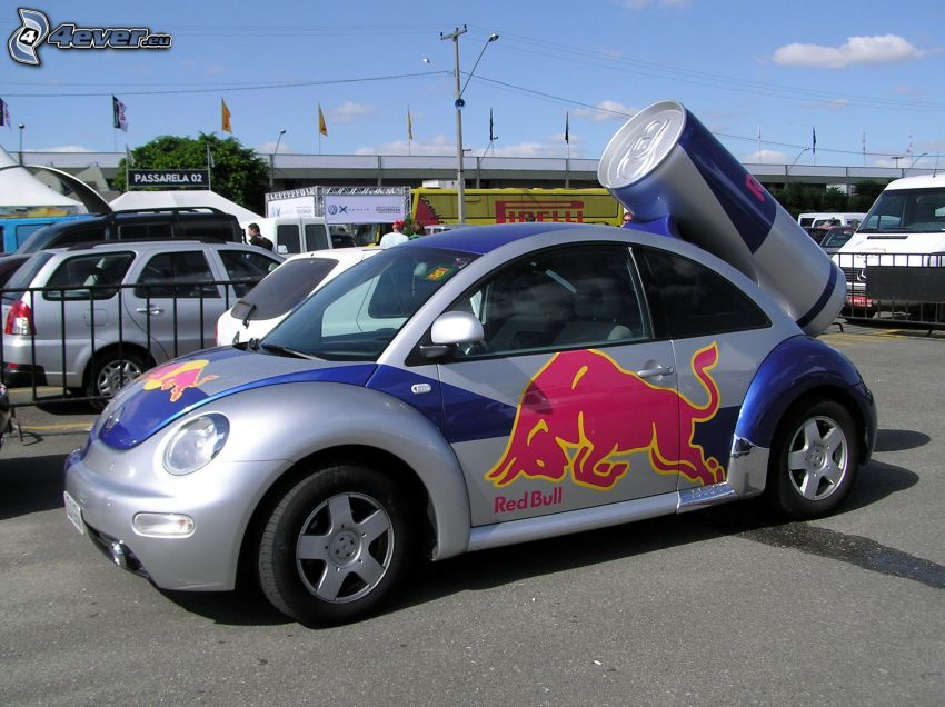 Volkswagen New Beetle, Red Bull