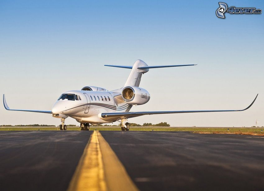 Citation X - Cessna, aeroporto