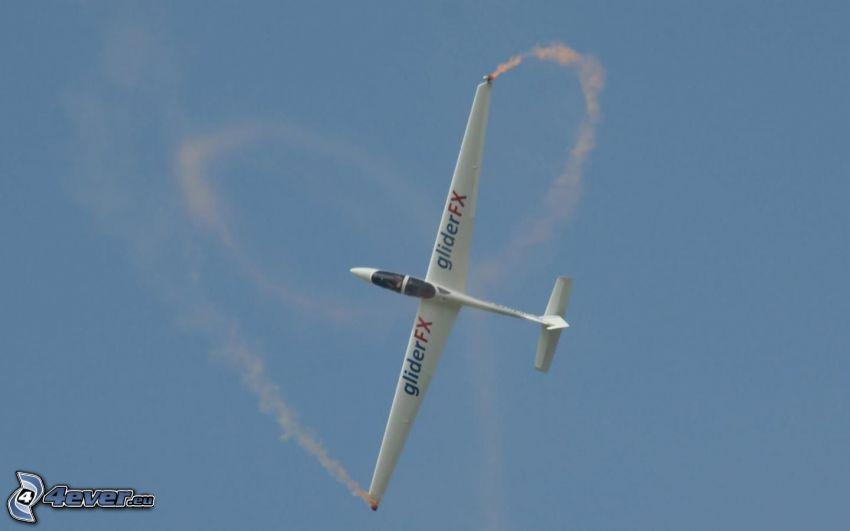 glider, acrobazia