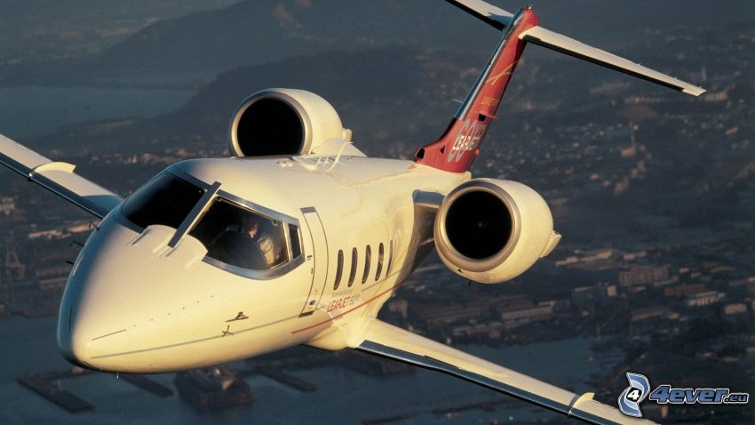 Learjet 60XR, jet privato