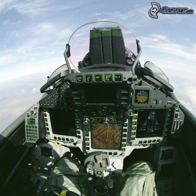 Eurofighter Typhoon, Cabina di pilota