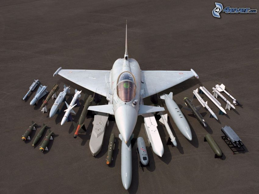 Eurofighter Typhoon, missili