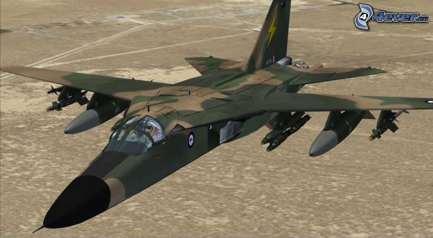 F-111 Aardvark, cartone animato