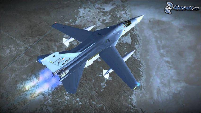 F-111 Aardvark, veduta