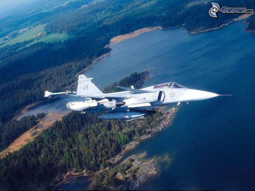 Jas-39 Gripen, aereo da caccia