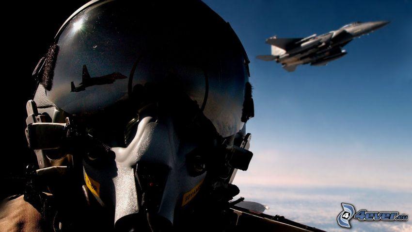 pilota, aereo da caccia, F-15 Eagle