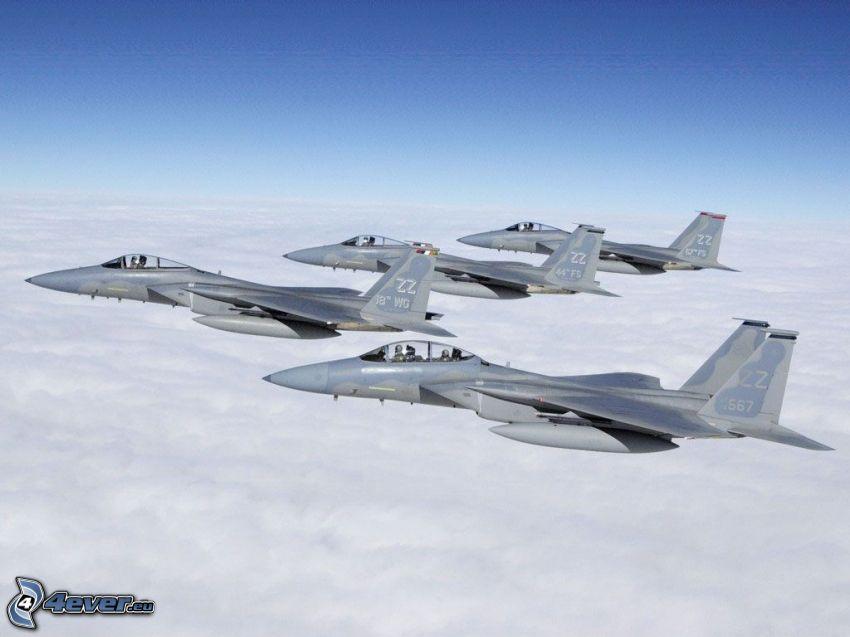 Squadron F-15 Eagle
