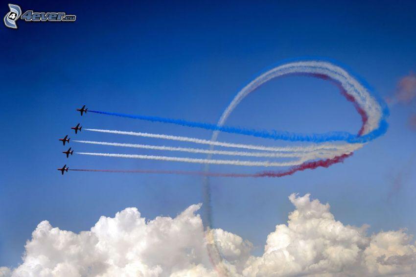 Air Show, nuvole