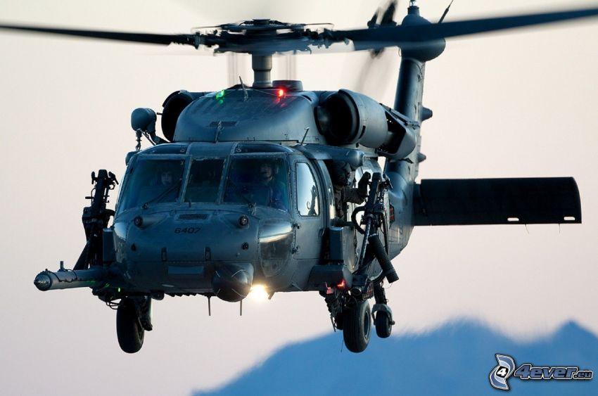 HH-60G Pave Hawk, Elicottero militare